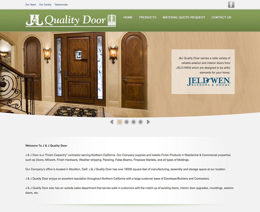 J and j quality door monster design studios for Quality door design