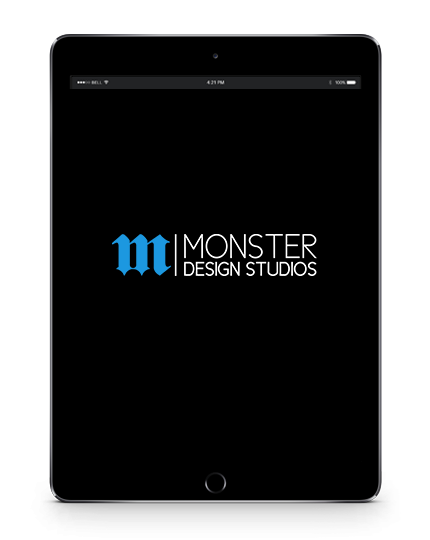 Monster Design Studios Tablet Logo