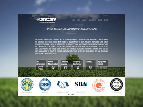 SCSI specialized contracting services